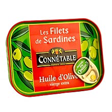 Connetable French Sardines in Olive Oil
